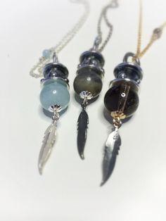 Precious stones boho chain