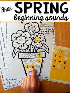 Teaching Letter Sounds, Alphabet Sounds, Teaching Letters, Prek Literacy, Early Literacy, Literacy Centers, Phonics Activities, Alphabet Activities, Initial Sounds