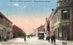 Munkatsch (Munkács - Mukatschewe), Kaiser-Wilhelm-Straße Die Habsburger, Kaiser Wilhelm, Street View, District Court, Birthing Center, Forts, Hungary