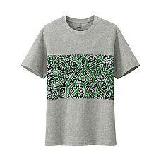 MEN SPRZ NY Graphic T-Shirt (Keith Haring)