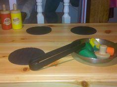 Great quick temporary PK idea (IKEA coasters)