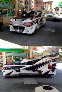 STRANGE CUSTOM CAR - VERY VERY STRANGE!