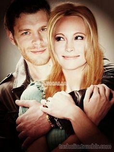 Caroline and Klaus: Vampire Diaries