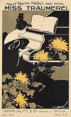 Artist Ethel Reed (1874-1912) was an internationally recognized American graphic artist.