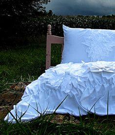 DIY Anthro Knockoff Bedding