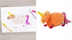 Ikea, 10 Çocuğun Hayal Gücünü Oyuncağa Dönüştürdü * Bigumigu