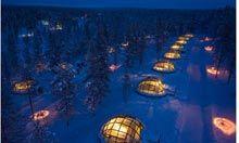 Hotel Kakslauttanen igloos, Finland