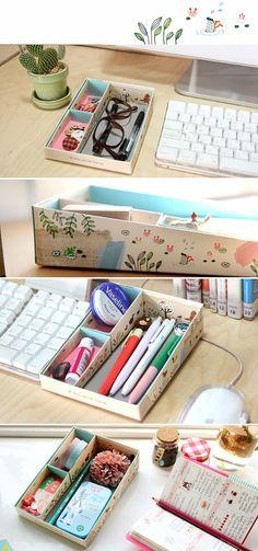 Easy DIY Scrapbook Storage Box @ Home Ideas and Designs