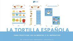 Fichas de la tortilla española para practicar los alimentos y el imperativo de @abcdeEle :D Aquí: http://www.eleinternacional.com/practica-el-imperativo-y-los-alimentos-como-hacer-una-tortilla-espanola/ ¿La usarás?