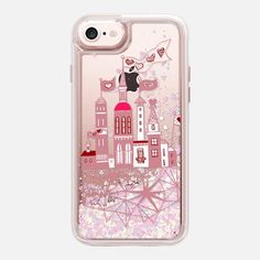 CASETiFY iPhone 7 Glitter case - city of love by Marianna Glitter Phone Cases, Tech Accessories, Iphone 7, Artists, Love, City, Inspiration, Amor, Biblical Inspiration