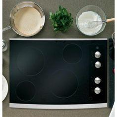GE Table de cuisson électrique 30 po CleanDesign - Acier inoxydable - Sears | Sears Canada