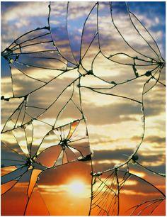 Broken Mirror/Evening Sky, Bing Wright, 2012 - Imgur
