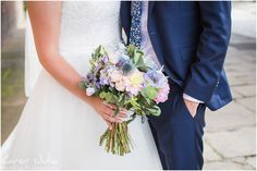brides bouquet; a mix of pastels by from flowers