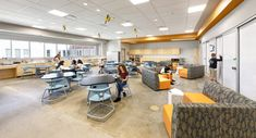Moseley Architects completed the Powhatan Middle School to make advances in innovative learning for students in Powhatan, Virginia. The Powhatan Middle School project began with … Education Middle School, School Staff, Public School, Powhatan County, Learning Spaces, Media Center, The Middle, Educational Technology, School Projects