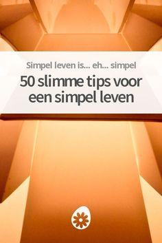 50 slimme tips voor een simpel leven