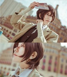 Character: Osamu Dazai Anime: Bungou Stray Dogs #anime #animecosplay…