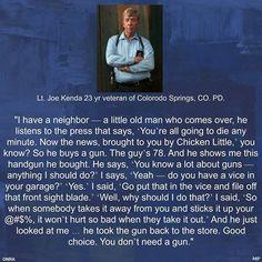 Ret. Lt. Joe Kenda  ... love this man!!!my,my,my!