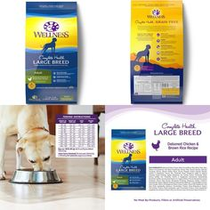 Natural Dry Dog Food Health Chicken &Amp; Rice 30P Bag Balanced Everyday Nutriti #WellnessNaturalPetFood,#dog,#food,#cat,#energy,#strong,#health,#dry,#pet,#protein,#natural