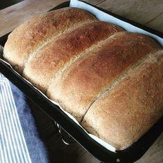 Bare halvgrovt tenker du, i disse dager når brød ikke kan bli grovt nok. Da vil jeg bare si at et hvilket som helst hjemmelaget brød slår det groveste industribakte brødet ned i sokkene. Så min o… Bread Recipes, Baking Recipes, Snack Recipes, Norwegian Food, Salad Recipes For Dinner, Biscuit Recipe, Good Healthy Recipes, What To Cook, Bread Baking