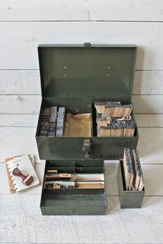 vintage stamp kit
