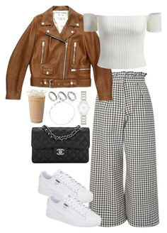 Untitled #4463 by theeuropeancloset on Polyvore featuring Acne Studios, Topshop, Chanel, Forever New, ASOS and Astley Clarke