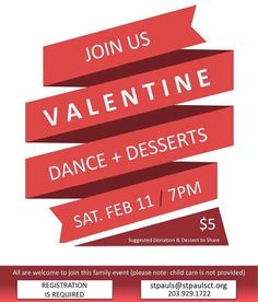 It's going to be a fun night on Feb. 11! Please RSVP plus bring a $5 donation  dessert to share.  #sheltonct #ecct #vday http://ift.tt/2jLjV7h
