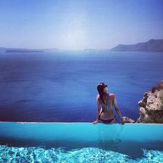 #dreamyourgreece Santorini. Perfection. #DreamYourGreece I want that to be me~!
