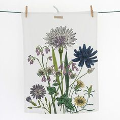 This Cornflower tea towel is nothing short of gorgeous Tea towels make brilliant stocking fillers or house warming gifts and these beautifully