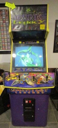 Fresh Gauntlet Dark Legacy Arcade Cabinet