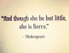 She is..