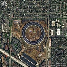 Here's 3 Donut-Shaped Buildings as Seen From Above Photography Tags, Photography Awards, Aerial Photography, Star Fort, Lake Las Vegas, National Donut Day, Photo Awards, Construction Worker, Built Environment
