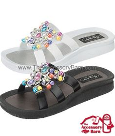 Love the Grandco Sandals and other great accessories I found this on http://theaccessorybarn.com