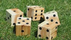 27 Best DIY Backyard Games Ideas and Designs for 2021 Fun Outdoor Games, Backyard Games, Backyard Projects, Outdoor Ideas, Outdoor Activities, Outdoor Decor, Diy Projects, Yard Yahtzee, Yahtzee Game