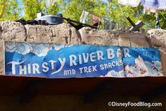 Welcome to Thirsty River Bar and Trek Snacks -- a brand new addition to the Asia section in Disney World's Animal Kingdom park! Star Citizen, Disney World Trip, Disney Vacations, River Bar, Disney Food, Animals Of The World, Animal Kingdom, Wwii, Trek
