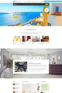 Hotel Booking WordPress Theme Big Screenshot