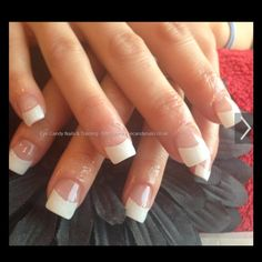 LAST CALL White nail tips 10 different size white tips. 500 count. Never been used. Bought online Other