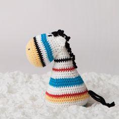 Zachary Crochet Zebra, Crochet Animals, Beanie, Toys, Amigurumi, Toy, Beanies, Gaming, Games