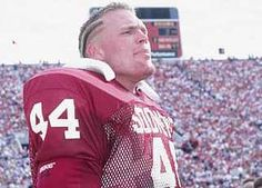 Brian Bosworth - OU Linebacker - Two time Butcus Award winner as top collegiate linebacker...1985 & 86