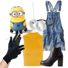 MINIONS: The minions aren't new to the pop culture scene but 2015 was a big year for those cuties! Create this costume with overalls, a yellow top, black gloves, and the iconic goggles. See more fun Halloween costume ideas here!