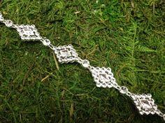 Rhinestone Diamond Design Chain (10 Yards)