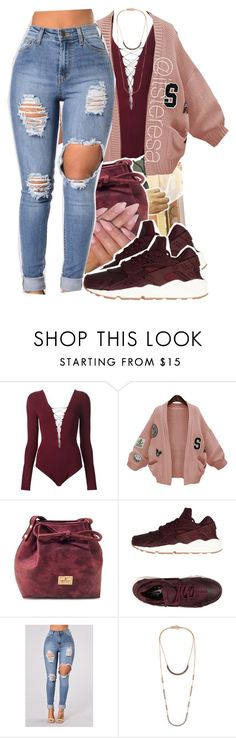 """"" by itsteresa on Polyvore featuring T By Alexander Wang, WithChic, INC International Concepts, NIKE and Isabel Marant"