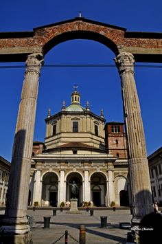 Milano, S. Travel Around The World, Around The Worlds, Big Ben, Places To See, Taj Mahal, Louvre, Explore, Bella, Building