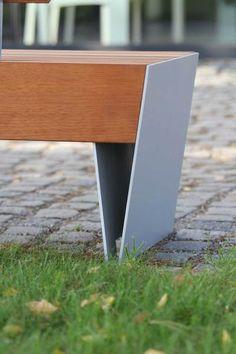mmcité - products - park benches - blocq