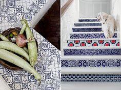 Azulejos - Decoração com azulejos especiais - home decor