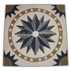Star of Morocco Cement Tile
