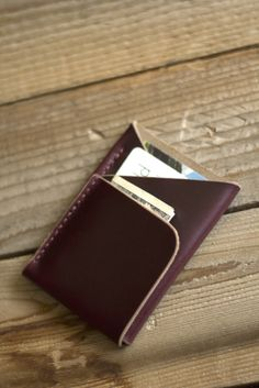 Image of Double-Cross Wallet (Brown Chromexcel)
