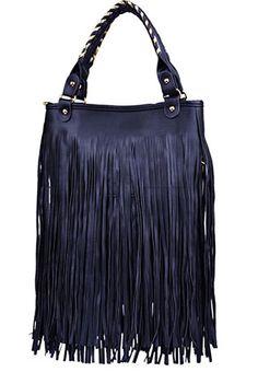 Handbag with fringes http://www.misstella.com/go/si/si/40069