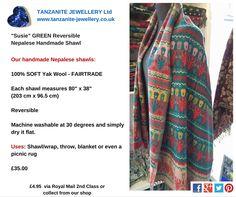 Not Lined The Original Fair Trade Tibetan Yak Wool Woollen Sleeping Bag Multicolour