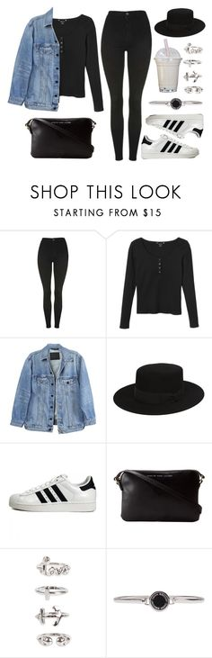 """""""Sin título #12342"""" by vany-alvarado ❤ liked on Polyvore featuring Topshop, Monki, Y/Project, Yves Saint Laurent, adidas Originals, Marc by Marc Jacobs, NLY Trend and Marc Jacobs"""