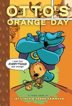 This was a cute Toon book about a cat named Otto who loves the color orange. He wishes for his whole world to be orange and then realizes that's not in everyone's best interest. It was very humorous and enjoyable, good for adults and children alike!